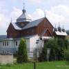 Cerkiew greckokatolicka w Komańczy/Szlak Architektury Drewnianej/Wooden Architecture Trail