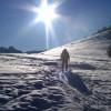 Na skitourach przez Rusinową Polanę