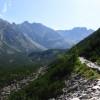 Tatry - szlak do Czarnego Stawu Gąsieniocwego